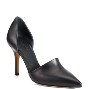 Vince Claire Choked Up Leather D'Orsay Pumps 6.5